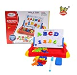 Toy Arena Best Write N' Draw Magnetic Math Learning Case- for Kids Above 3 Years - 52 pcs