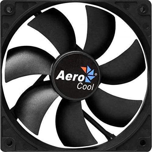 Aerocool Dark Force 12cm - Ventilador de PC (Ventilador, Carcasa del ordenador, 12 cm, Negro, 0.12A, 1.44W)
