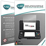 2 x Slabo Displayschutzfolie New Nintendo 3DS Displayschutz Schutzfolie Folie 'No Reflexion|Keine Reflektion' MATT - Entspiegelnd MADE IN GERMANY