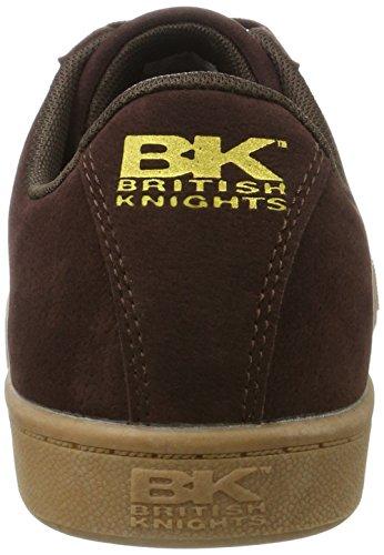 British KnightsDuke - Low-Top Uomo Braun (Dk Brown/Crepe)