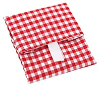 Harold Import Wrap-N-Mat, Sandwich wrap, Red/White gingham, 13x13