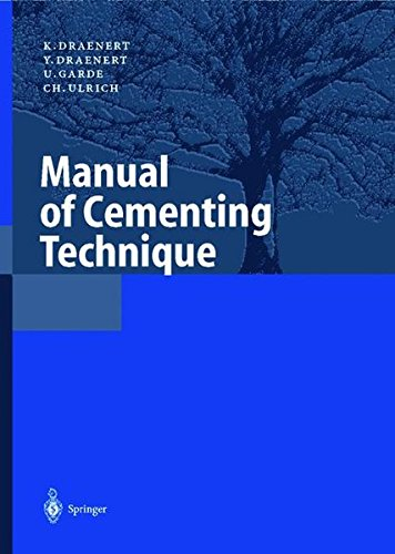 Manual of Cementing Technique