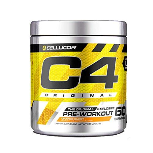 Cellucor - C4 G4 - Suplemento de preentrenamiento en polvo - Con creatina - Sandía - 60 raciones