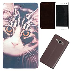 DooDa - For Lenovo P70 PU Leather Designer Fashionable Fancy Flip Case Cover Pouch With Smooth Inner Velvet