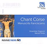 Chant Corse/Manuscrits Franciscains