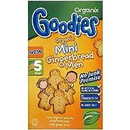 Organix Goodies Organique Mini- Pain D'Épice Hommes 12Mth + (5X25G)