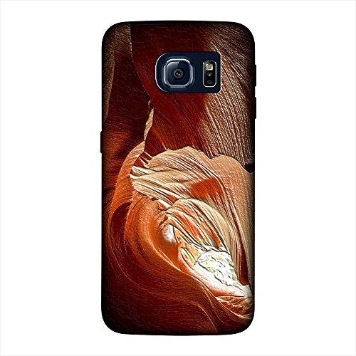 Paesaggi 130, Death Valley, Custodia Ultra Sottile in Silicone Gel Chiaro Trasparente Case Cover Protezione Shell Bumper con Design Strutturato per Samsung Galaxy S6 G9200.
