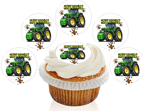 12-large-pre-cut-edible-happy-birthday-john-deere-wafer-cupcake-decorations-toppers-by-kreative-cake