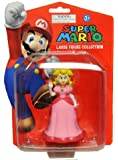 "5"" Pink Super Mario Brothers Cart Nintendo Wii Figures Princess Peach"