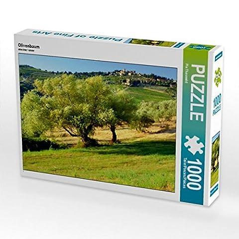 Olivenbaum 1000 Teile Puzzle quer (CALVENDO Natur)