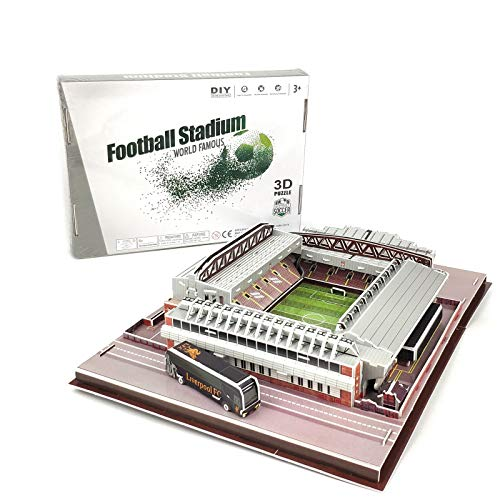 TriPro 3D Puzzle Anfield Stadion DIY Modell Set (Liverpool)