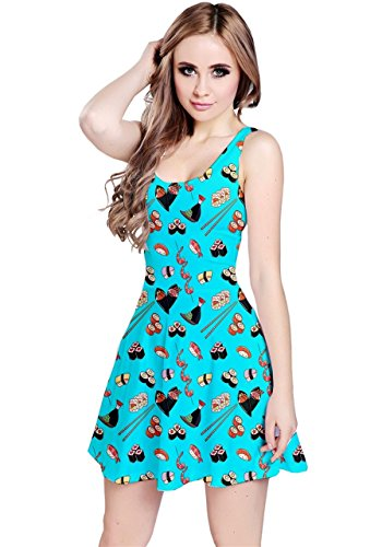 CowCow - Robe - Femme Rose Rose fluo Turquoise