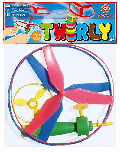 Unbekannt Paul Günther 1171 Parachute, Fallschirm zum Werfen, Durchmesser ca. 46 cm, farblich Sortiert, bunt