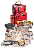 Erste Hilfe Notfallrucksack aus Plane für Ski & Wintersport mit