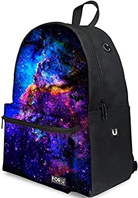 FOR U DESIGNS Sac à dos multi-fonction - Voyages, scolaire, loisirs - Peut contenir un ordinateur portable jusqu'à 15.6 pouces et une tablette - galaxy