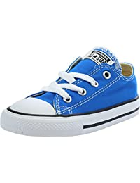 Converse Chuck Taylor All Star Infant Soar Blue Textile Trainers