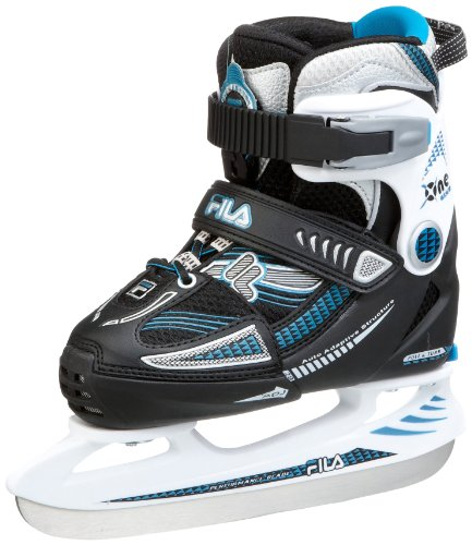 Fila Kinder Schlittschuh X-One ICE, black/blue, S