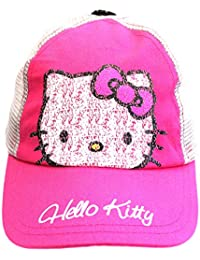 73dd8abb792cd Official Licensed Hello Kitty Pink Grey Mesh Back Baseball Cap Age 4-8 Years