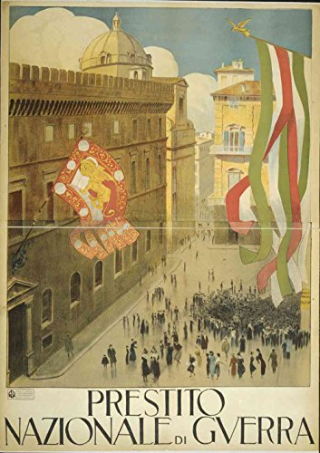 Das Museum Outlet-Plaza Italien, gespannte Leinwand Galerie verpackt. 29,7x 41,9cm