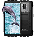 Blackview BV6800Pro Robust Smartphone (2018), IP69K 6580mAh Kabelloses Laden, Outdoor Smartphone Android 8.0 4GB RAM + 64GB ROM, 8MP + 16MP Kameras 18:9 FHD+ 5.7'' Display,Schwarz