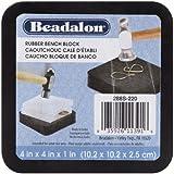 Beadalon Gummi-Block, 10,2 x 10,2 cm