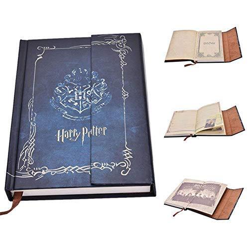 tter Vintage Notebook Harry Potter Journal Book Diary Book/Hard Cover Note Book/Notizblock/Agenda Planer Geschenk ()