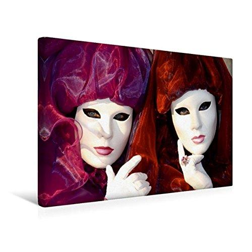 Premium Textil-Leinwand 45 cm x 30 cm quer, Twins | Wandbild, Bild auf Keilrahmen, Fertigbild auf echter Leinwand, Leinwanddruck (CALVENDO (Kostüme Twin)