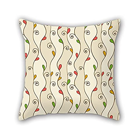 NICEPLW Pillow Cases Of Leaf,for Car,dance Room,boy Friend,car,car Seat,family 20 X 20 Inches / 50 By 50 Cm(twice Sides)