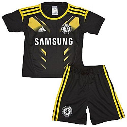 2012-13 Chelsea 3rd Adidas Little Boys Mini Kit (Chelsea Kit Replica)