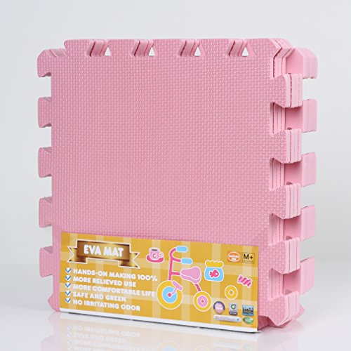 Meitoku Puzzlematte, 1cm dick, Rosa