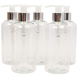 clear Lotion Bottles empty Lotion Pump