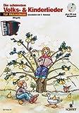 Die schönsten Volks- und Kinderlieder für Akkordeon (+CD) mit Bleistift -- 31 beliebte Melodien sehr leicht gesetzt für 1-2 Akkordeons mit Text und Akkordsymbolen (Noten/sheet music)