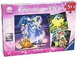 Ravensburger - Puzzle 3 x 49 piezas, Disney Princess (9339)