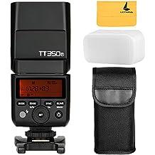 Godox TT350F 2,4 G HSS 1/8000s Flash TTL GN36 Kamera Speedlite für Fuji X-Pro2 X-T2 X-Tl X-T10 X-El X-A3 X100F ect. Digital Kamera