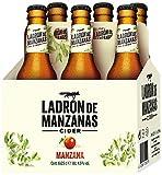 Ladrón de Manzanas Cider - Packs de 6 Botellas x 250 ml - Total: 1.5 L