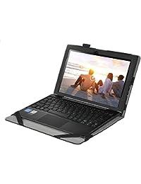 IVSO Linx 102010.1Etui–Housse étui coque avec support pour tablette Linx 102025,7cm For Linx 1020 10.1 inch noir