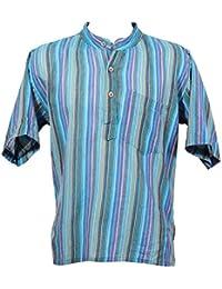 5b9b3ebf3 Amazon.co.uk: Turquoise - Shirts / Tops, T-Shirts & Shirts: Clothing