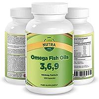 Píldoras de Aceite Omega de Pescado. El mejor suplemento para mejorar la salud del corazón