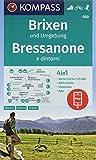 KOMPASS Wanderkarte Brixen und Umgebung, Bressanone e dintorni: 4in1 Wanderkarte 1:25000 mit Panorama und Aktiv Guide inklusive Karte zur offline ... Skitouren. (KOMPASS-Wanderkarten, Band 50) -