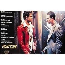 Fight Club - Póster con las reglas de El club de la lucha (en inglés, formato grande)