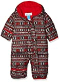Columbia Schneeanzug für Kinder, Snuggly Bunny Bunting, Polyester, rot (red element zigzag/red spark), Gr. 6/12 Monate, 1516331