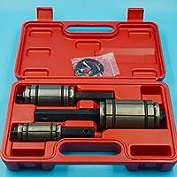 Walmeck Escariador de tubo de escape Herramienta de expansión de tubería de escape de automóvil Herramienta