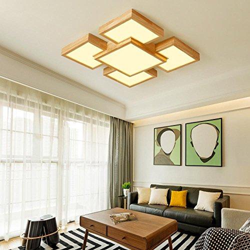 Lozse Dünne Holzdecke Wohnzimmer Leuchten LED Deckenleuchte Schlafzimmer