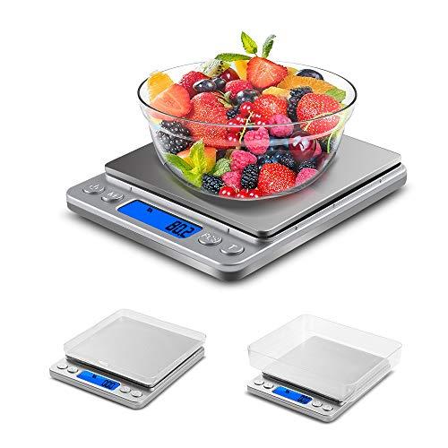 Una dieta sana ed equilibrata è fondamentale per essere in forma e attivi. L'ampia gamma di bilance da cucina combina una grande facilità d'uso, una precisa tecnologia di misurazione e un design accurato. Se sei il tipo di cuoco che ama sfidarsi tent...