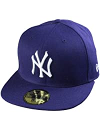 New Era MLB 59Fifty Basic Cap / Caps New York Yankees in 8 verschiedenen Farben | Größen: 6 7/8 bis 7 5/8