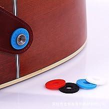 Accesorios Eléctrica guitarras Bass/5 Púas (Picks) El acero inoxidable/Cejilla Capo/Botón de seguridad/ herramienta Guitarra puente Pins /Tapa para guitarras acústicas/ Guitarra puente Pins (4PCS Botón de seguridad)