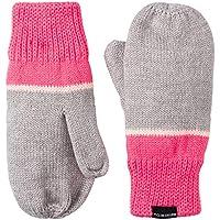 Adidas Stripy Guante, Infantil, Medium Grey Heather/Super Pink/White, Small