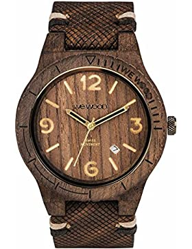 WEWOOD Herrenuhr - Alpha SW Choco Rough