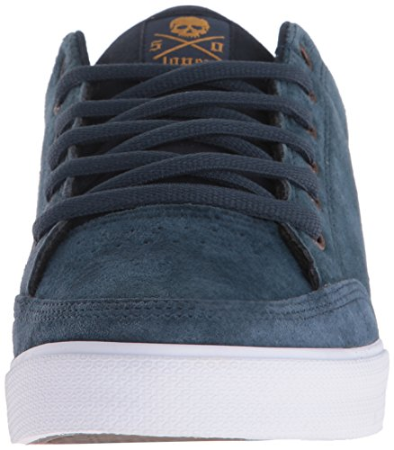 C1RCA  Lopez  50, Sneakers basses mixte adulte Navy/Brown/Gum