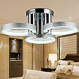 PitengTM LED moderna lámpara de araña lámpara de techo con 3cabeza lámpara de techo para comedor cocina y sala de estar